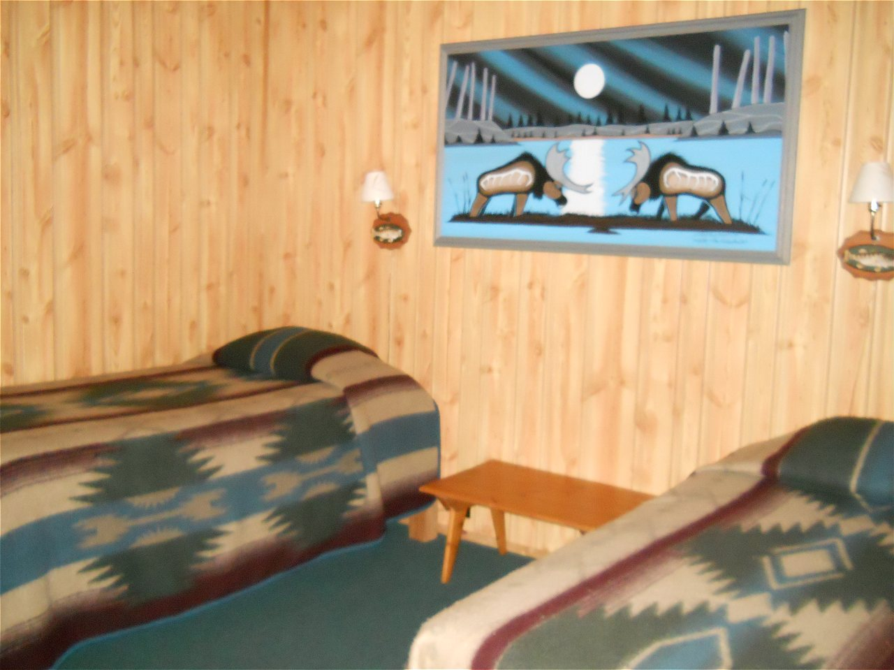 Walleye Retreat Bedroom