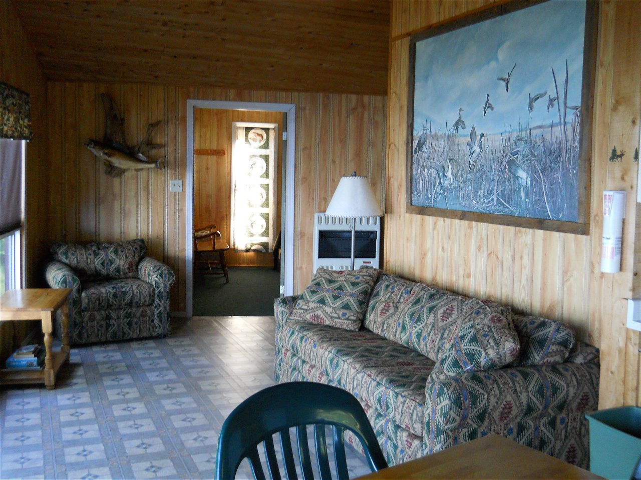 Walleye Retreat Living Room