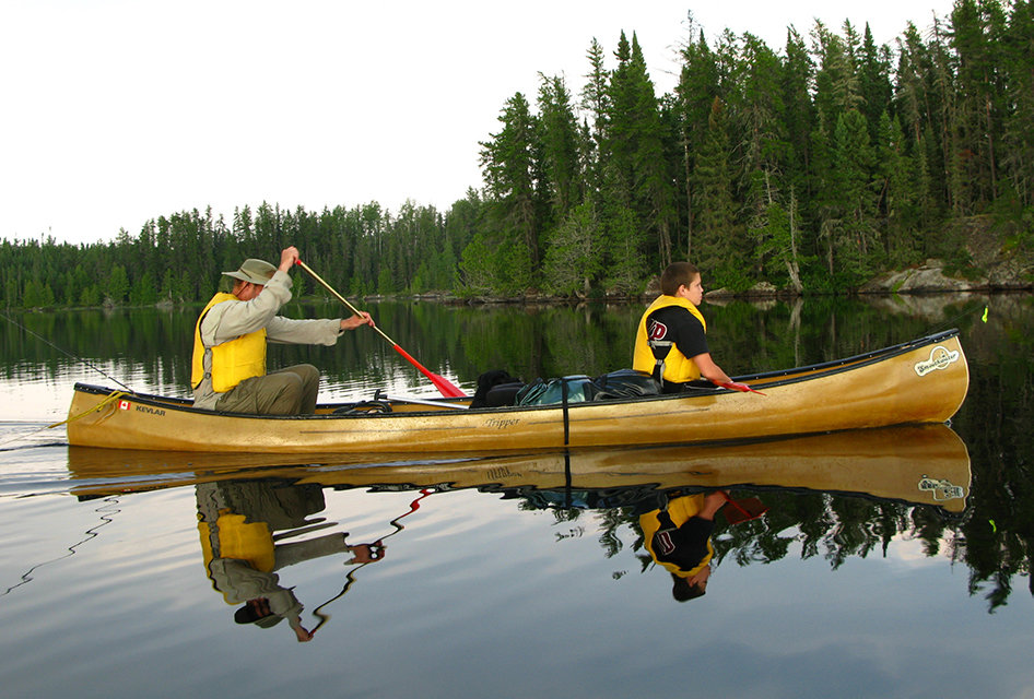 Wabakimi Provincial Park is an outdoor playground for family & friends with canoeing and plenty of hiking
